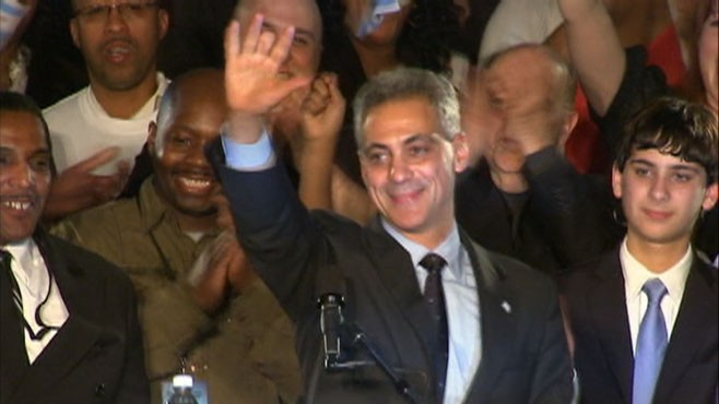 VIDEO: Rahm Emmanual Win Chicagos Mayoral Election