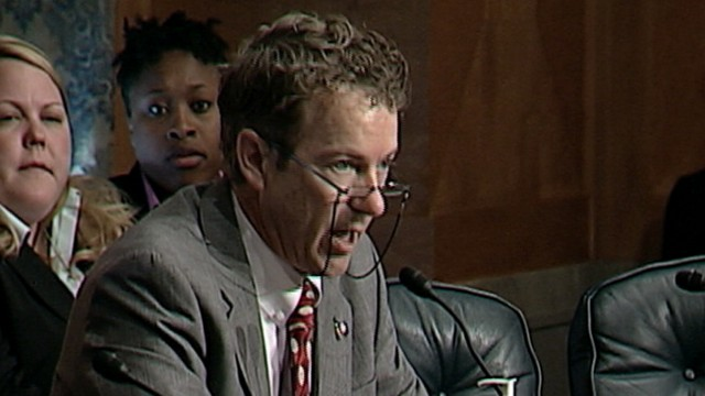 VIDEO: Sen. Rand Paul Criticizes TSA Searches at Hearing