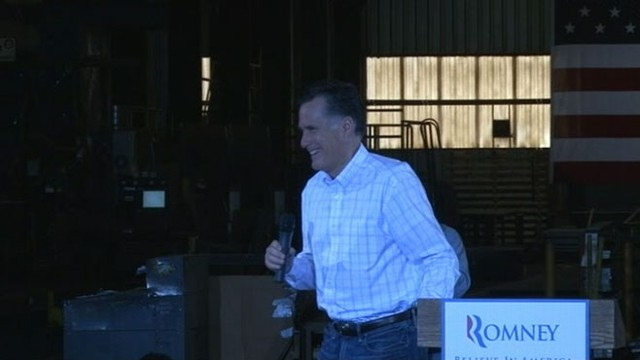 VIDEO: Mitt Romney jokes in Iowa that Perry supporters should vote on wrong day.