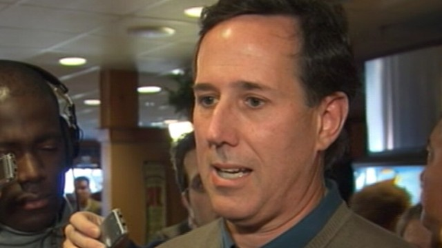 VIDEO: 2012: Rick Santorum Explans 06 Loss