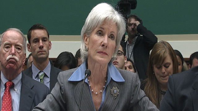 VIDEO: Kathleen Sebelius Takes Heat From Congress Over Flawed Health Care Website