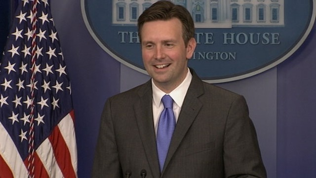 VIDEO: Spokesman Josh Earnest responds to questions about hurtling mammoth QE2.