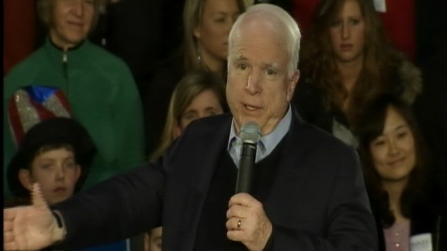 VIDEO: Sen. John McCain Endorses Mitt Romney