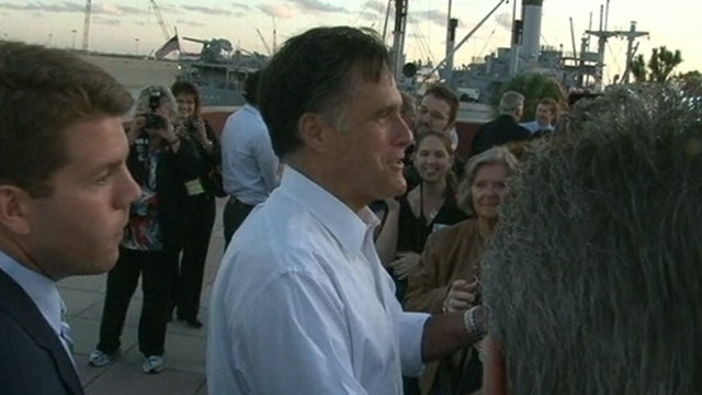VIDEO: GOP presidential candidate refuses to engage reporters after event in Tampa.