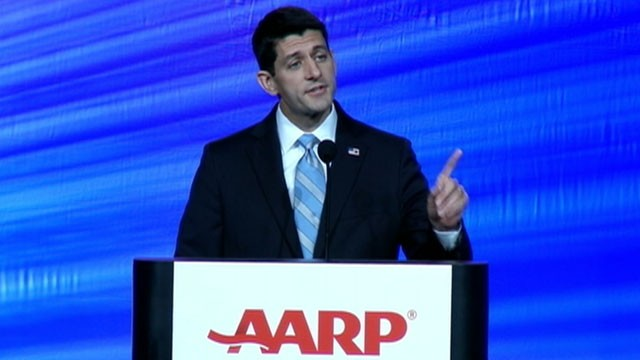 VIDEO: Paul Ryan gets booed at AARP convention in New Orleans.