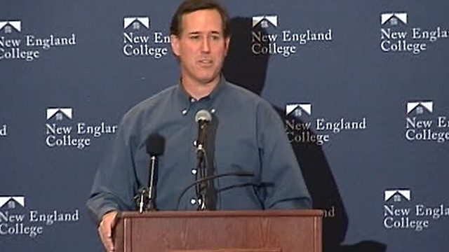 Santorum Gets Loudly Booed