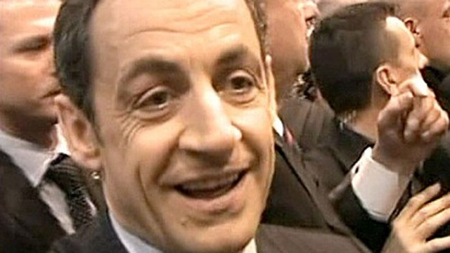 "VIDEO: President Nicholas Sarkozy refers to a heckler as a ""total jerk."""