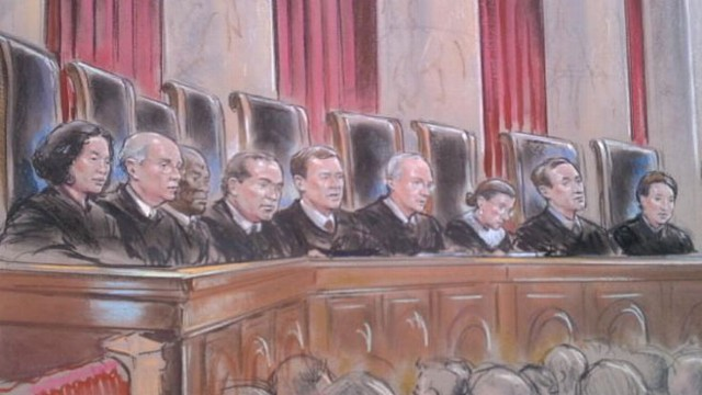 VIDEO: Justices challenge lawyers on both sides of California's same-sex marriage ban enacted by Proposition 8.