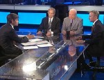 PHOTO: ABC News Legal Analyst Dan Abrams, ABC News Consultant and former White House Counterterrorism Adviser Richard Clarke, ABC News Consultant and former FBI Agent Brad Garrett on This Week