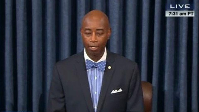 VIDEO: Senate Chaplain Barry Black, retired Navy Rear Admiral, has some words for quarreling lawmakers.