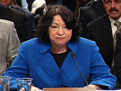 Video of the top moments from Judge Sonia Sotomayors Supreme Court confirmation hearing.