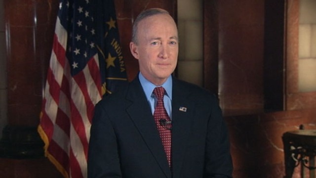 VIDEO: Indiana governor Mitch Daniels delivers the GOP response to President Obama.