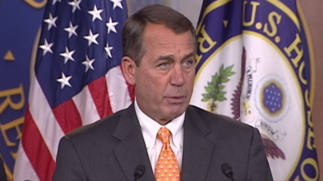 """VIDEO: New Republican House leader promises to """"be the voice of the American people."""""""