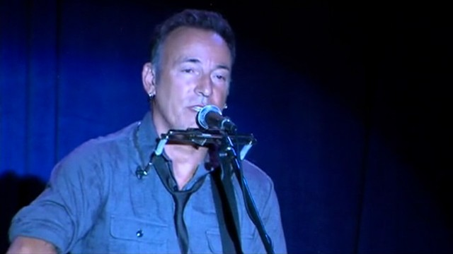 VIDEO: Bruce Springsteen says President Obama has the strength to move America forward.