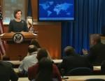 "VIDEO: Spokesman Victoria Nuland pressed on U.S. ""quiet diplomacy"" policy."