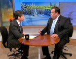 """PHOTO: In an interview with ABC?s George Stephanopoulos, New Jersey Gov. Chris Christie, said it would be """"crazy"""" for anybody to try to """"plan four years from now."""""""
