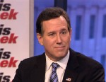 "PHOTO: Former Republican presidential candidate Rick Santorum appears on the ""This Week"" roundtable."