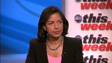 """PHOTO: US Ambassador to the United Nations Susan Rice on """"This Week."""""""