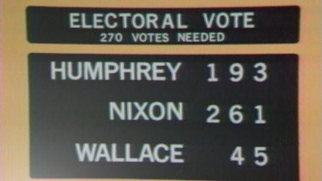 VIDEO: Richard Nixon is elected president in 1968.