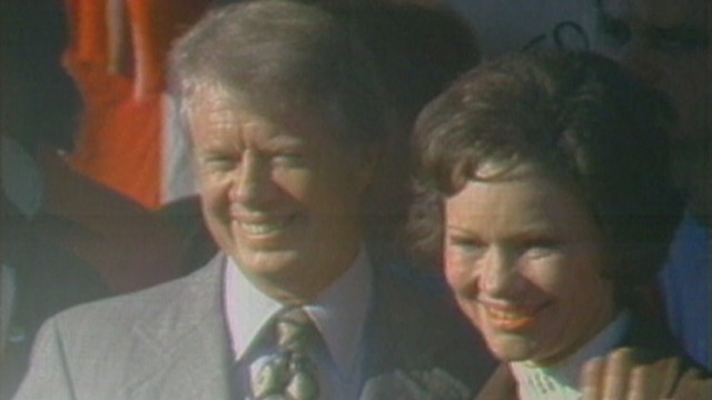 VIDEO: Jimmy Carter elected president in 1976.