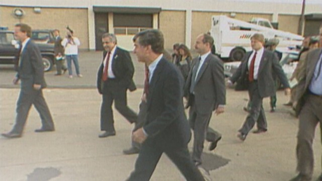 VIDEO: George H. W. Bush is elected in 1988.
