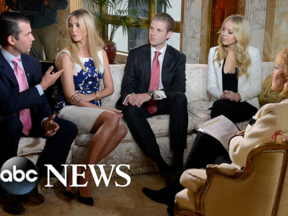 Donald Trump and Family Talk to Barbara Walters About His ...
