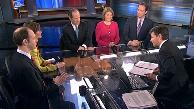 VIDEO: Jake Tapper, Austan Goolsbee, Mary Matalin, Eliot Spitzer and Nicolle Wallace.