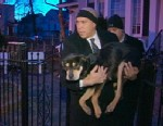 PHOTO: Cory Booker rescues dog