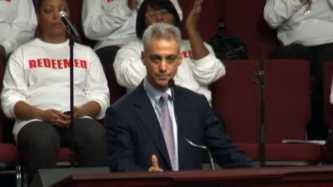 VIDEO: Chicago mayoral candidates spread their messages at churches.