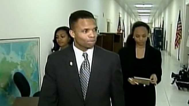 VIDEO: Jesse jackson Jr. denies reports that he tried to pay for a U.S. Senate seat.