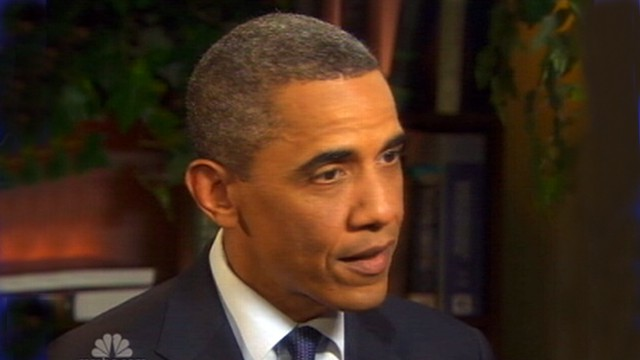 VIDEO: The president adds to pressure calling for the Congressman Anthony Weiner to resign.