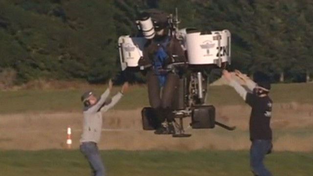 VIDEO: Jetpack Flies To Over 5,000 Feet