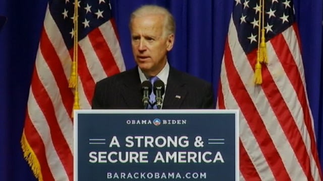 "VIDEO: Vice President accuses Mitt Romney of having a ""cold war mindset."""