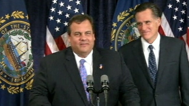 VIDEO: New Jersey governor tapped to give speech at Republican National convention in Tampa, Fla.