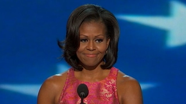 VIDEO: First lady shares personal stories about her husband on first night of the DNC.