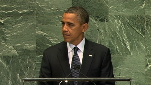 VIDEO: The president says time for diplomacy is running out and that Iran must halt their nuclear program.