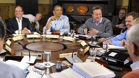 ap G8 summit 120519 wblog Obama Sees Emerging Consensus on Eurozone Rescue, Promotes Growth