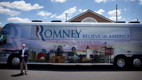 ap Mitt Romney bus jt 120616 wblog Romney Says Hell Win Pennsylvania in November