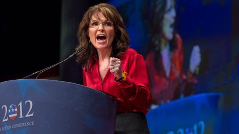 ap Sarah Palin jt 120211 wblog Sarah Palin Rocks CPAC, Embracing a Long Primary