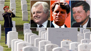 Senator Kennedy to be buried in historic cemetery