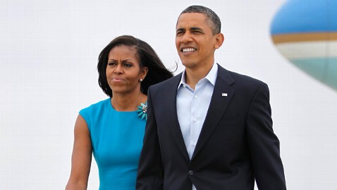 ap barack obama michelle obama ohio jt 120505 wblog Oops, President Obama Forgets the First Lady