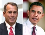 PHOTO: Speaker of the House John Boehner, R-Ohio, arrives for a closed-door meeting with House Republicans as he negotiates with President Obama to avert the fiscal cliff, at the Capitol in Washington, Dec. 18, 2012. President Barack Obama speaks about th