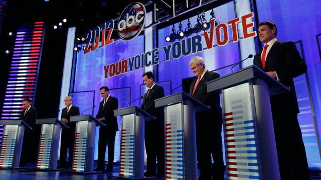 PHOTO: GOP debate