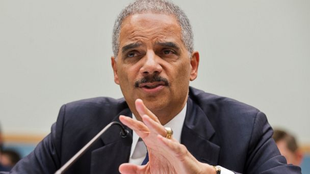 PHOTO: This April 8, 2014 file photo Attorney General Eric Holder testifies on Capitol Hill in Washington.