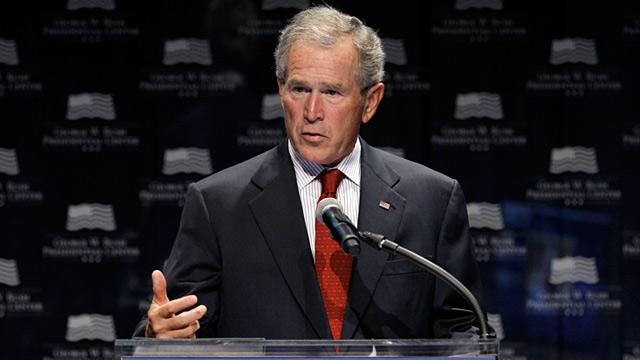 PHOTO: George W. Bush