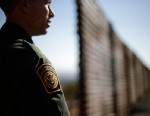PHOTO: U.S. Border Patrol agent Jerry Conlin looks to the north, June 13, 2013, near where the border wall ends as is separates Tijuana, Mexico and San Diego.