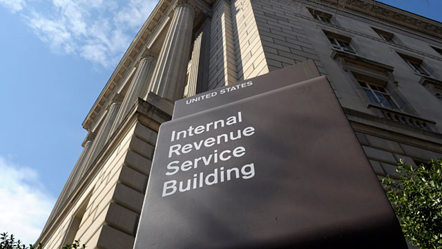 PHOTO: The exterior of the Internal Revenue Service building in Washington, is shown in this March 22, 2013 photo.