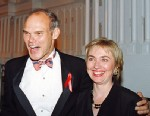 PHOTO: James Carville and Hillary Clinton