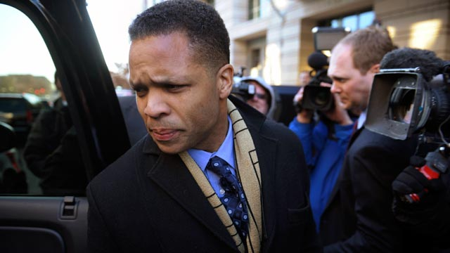 PHOTO: Former Illinois Rep. Jesse Jackson, Jr leaves federal court in Washington after he entered a guilty plea to criminal charges that he engaged in a scheme to spend $750,000 in campaign funds on personal items, Feb. 20, 2013.