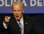 PHOTO:Vice President Joe Biden speaks during the South Carolina Democratic parties Jefferson Jackson Dinner Friday, May 3, 2013, in Columbia, SC.